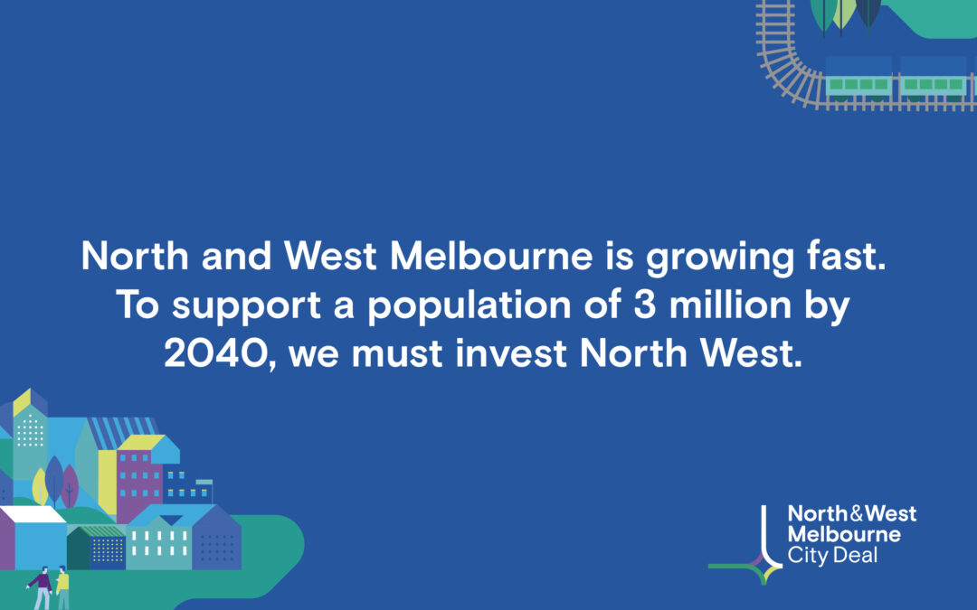 North and West Melbourne City Deal launch page