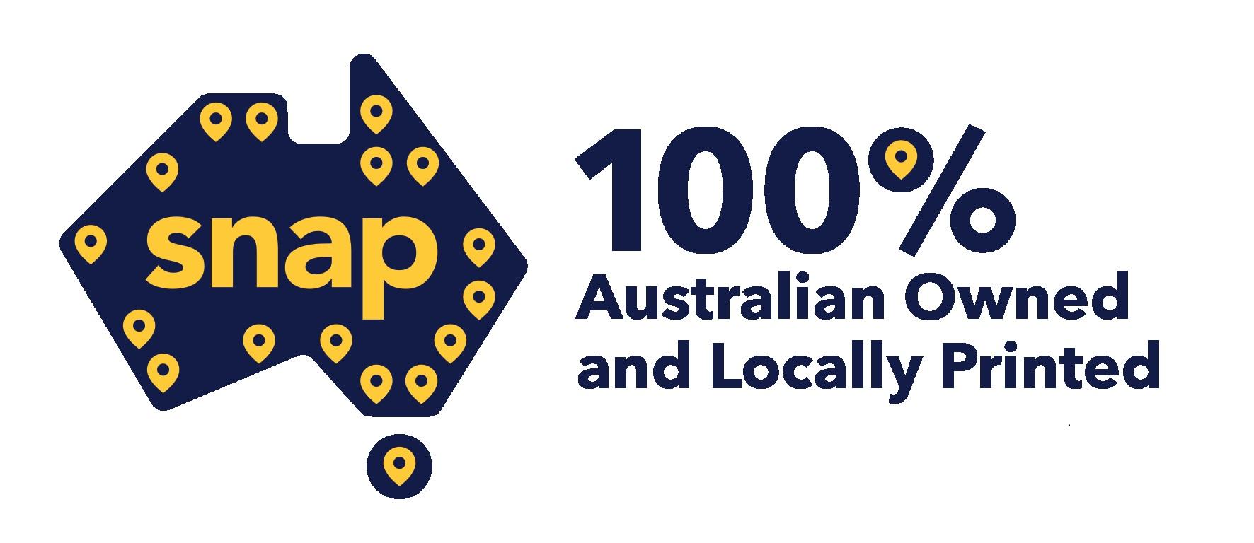 Snap Printing logo